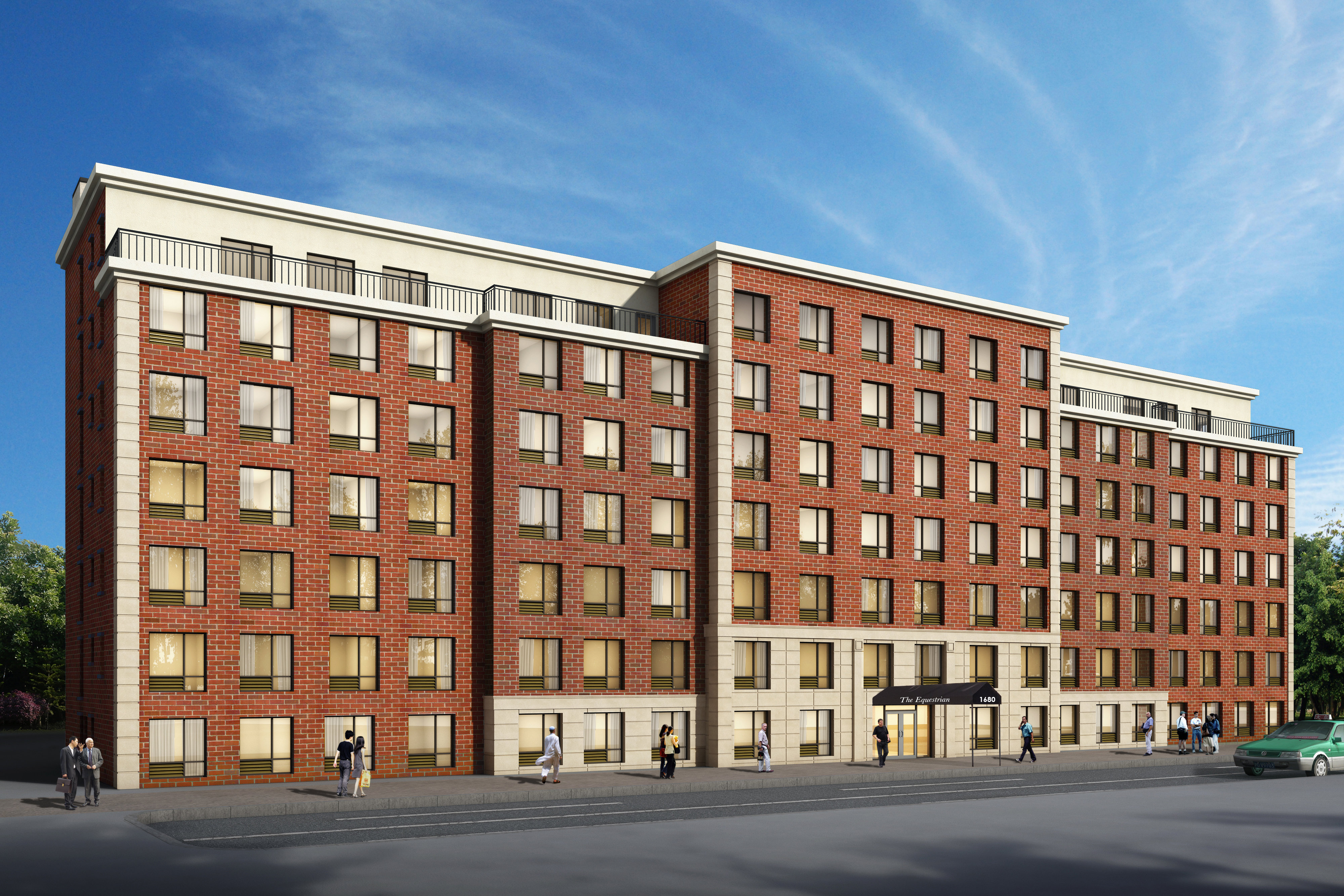 luxury apartment complex opens on pelham parkway this is the bronx. Black Bedroom Furniture Sets. Home Design Ideas