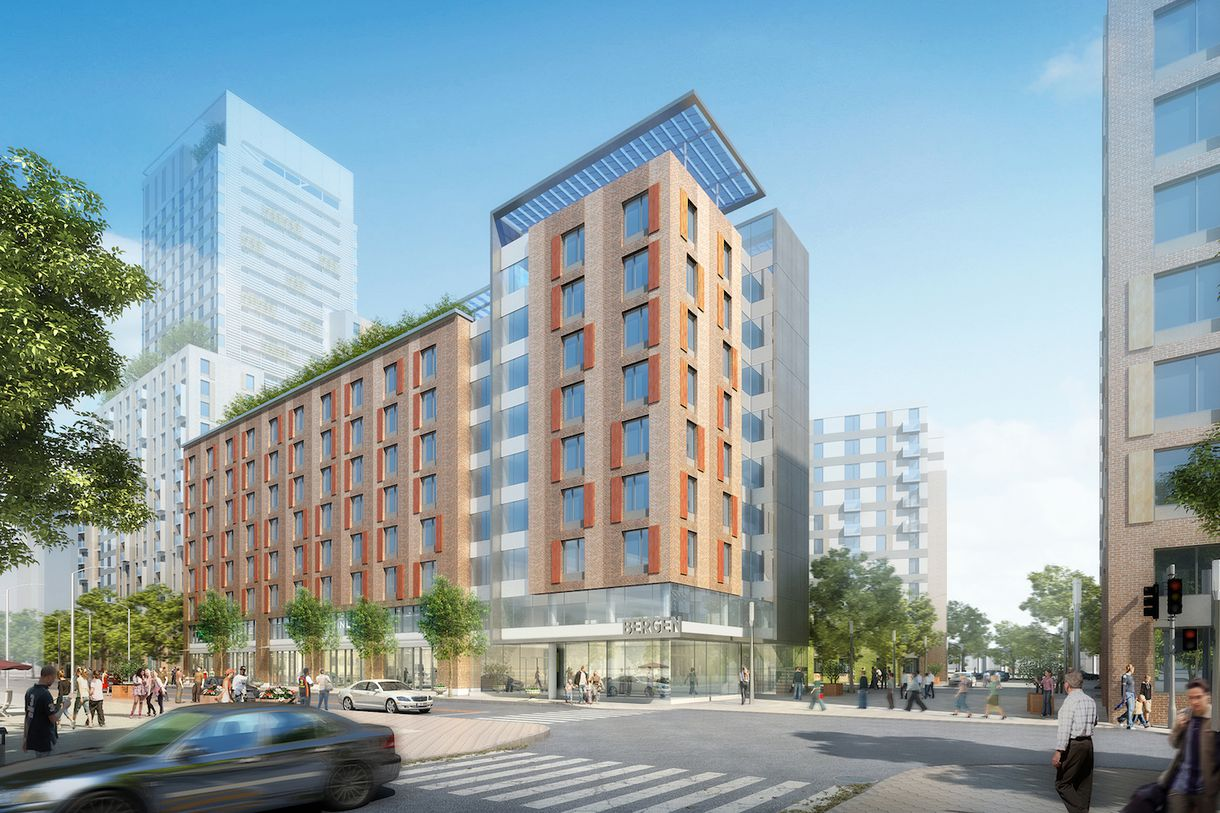 The bronx 39 s enormous affordable housing complex la for Affordable home construction