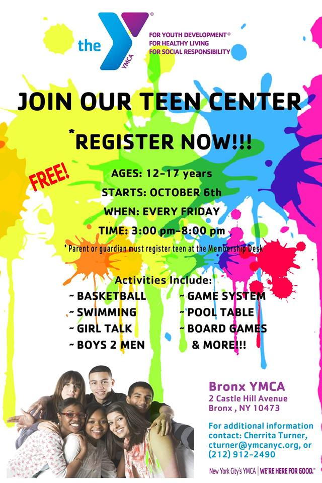 Teen center youth activity — img 1