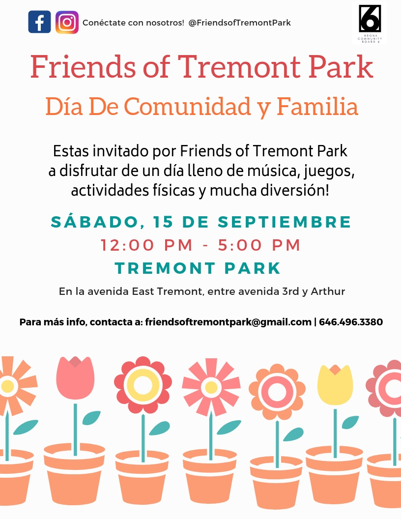 Community And Family Day At Tremont Park This Is The Bronx