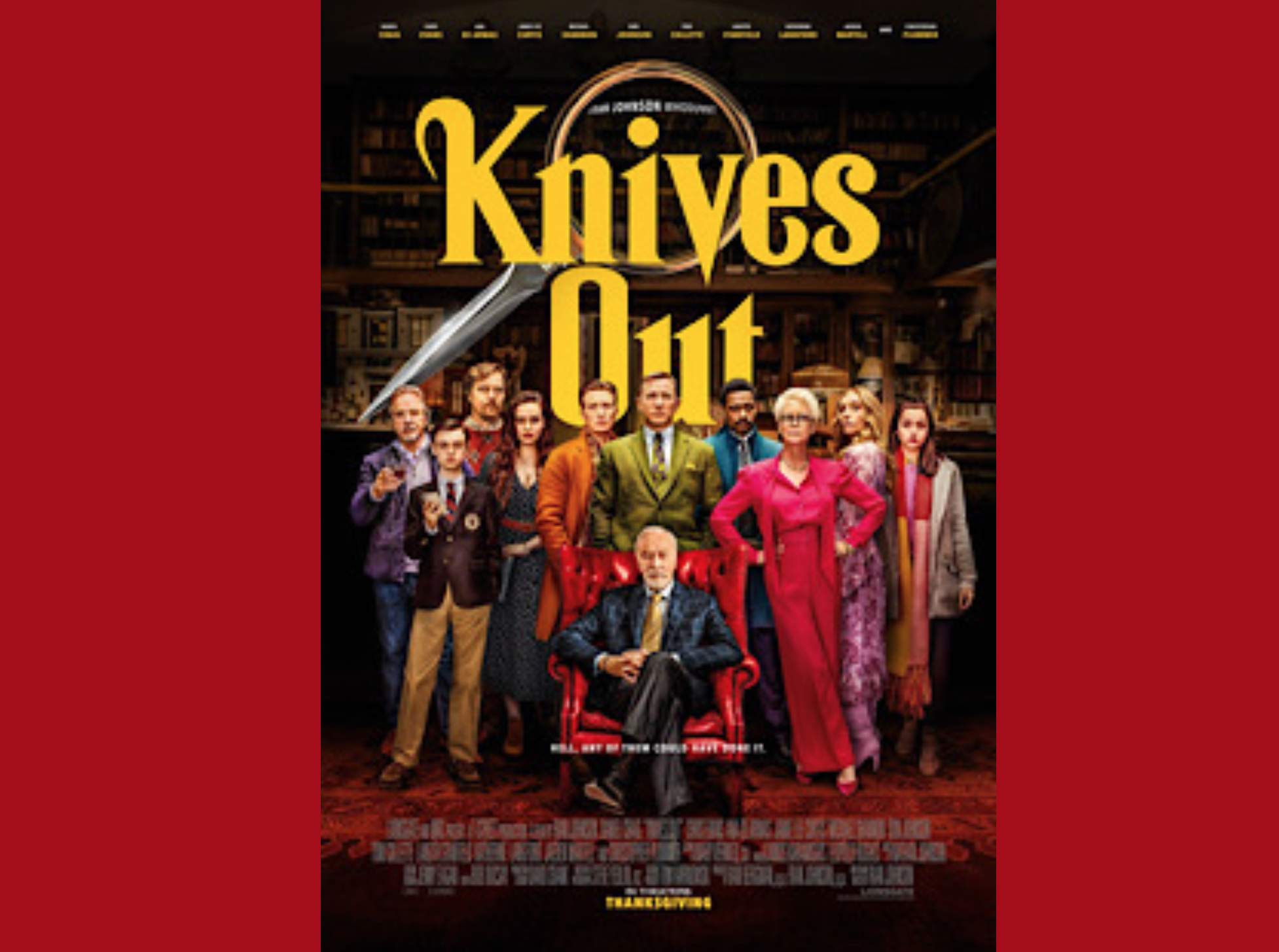 Film Review Knives Out Is Another Great Satire Film This Is